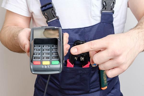 Rechnungen wird direkt bei Handwerker bezahlt.